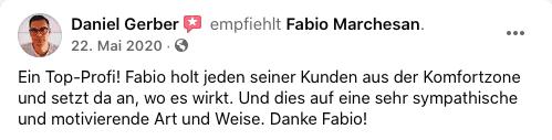 Bewertung Fabio Marchesan